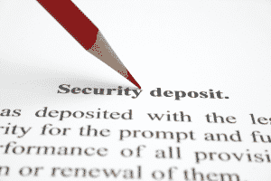 Lease Workout - Security Deposit